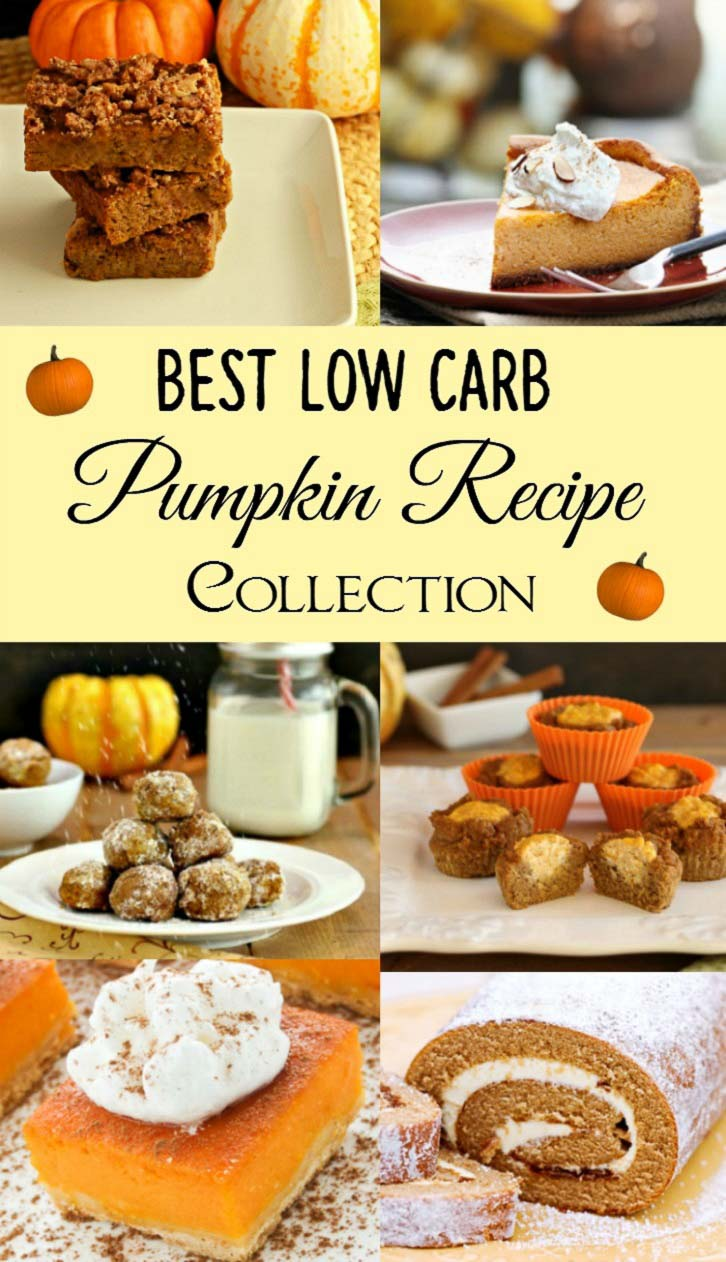 Best Low Carb Pumpkin Recipe Collection- Low carb tasty pumkin recipes.