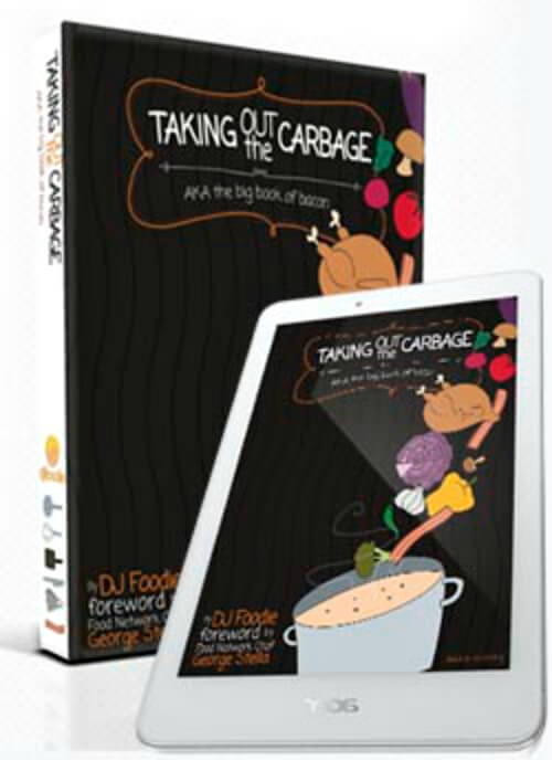 Review of Taking Out The Carbage- Dj Foodie's cookbook