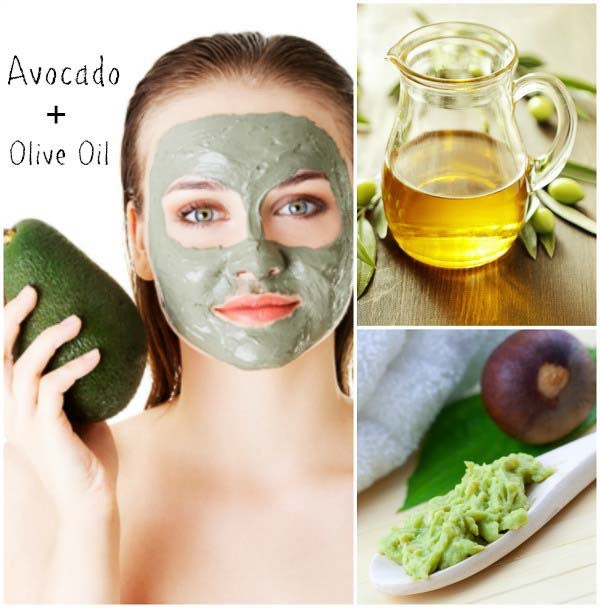 Homemade Natural Facial Masks - Vitamin Avocado Mask