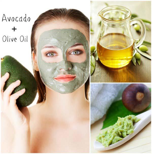 Homemade Natural Facial Masks - Vitamin Avocado Mask