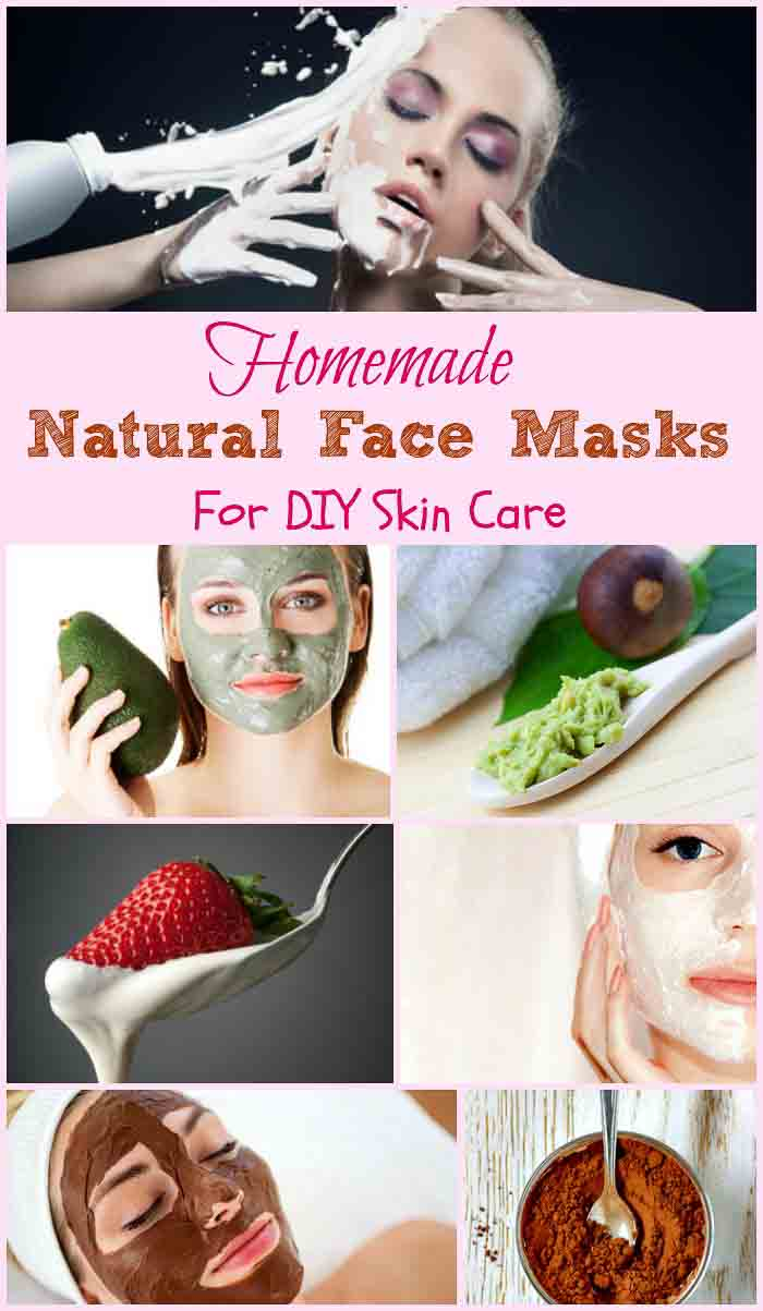Homemade Natural Facial Masks Winter Editon- DIY natural face masks
