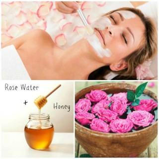 Homemade Natural Facial Masks- Roses and Honey Mask