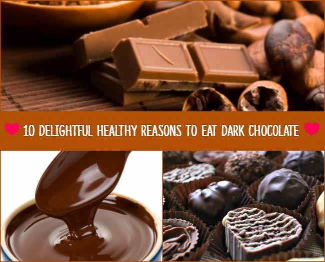 10 Delightful Healthy Reason to Eat Dark Chocolate