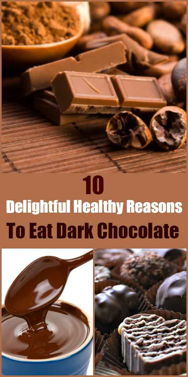 10 Delightful Healthy Reasons to Eat Dark Chocolate