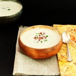 Creamy Artichoke Bacon Soup- low carb, gluten free and primal