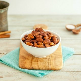 Cocoa Cinnamon Roasted Almonds