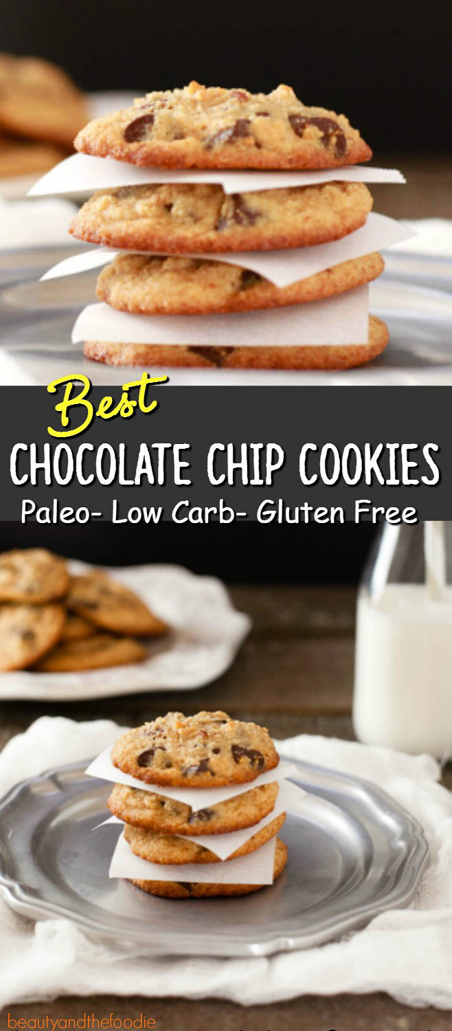 Best Chocolate Chip Cookies Paleo | Beauty and the Foodie