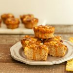 Caramel Apple Muffins low carb, keto and paleo version. Gluten free and super tasty!