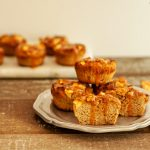 Caramel Apple Muffins low carb and paleo. Gluten free and super tasty!