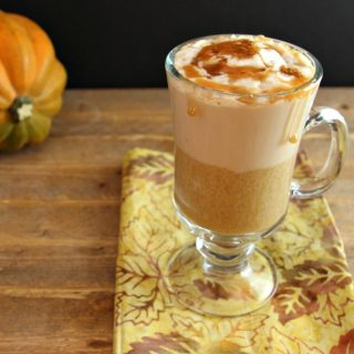 Pumpkin Caramel latte Low carb & paleo