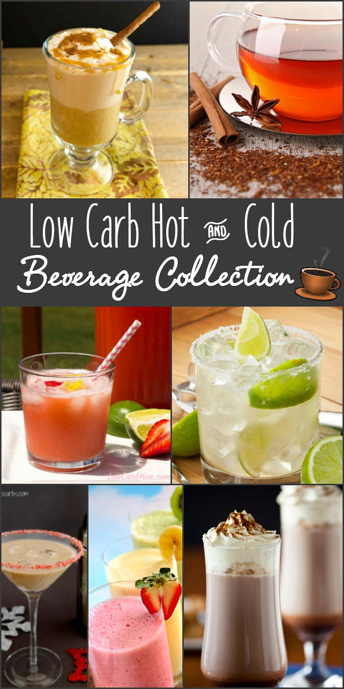 Low Carb Hot And Cold Beverage Collection Beauty And The Foodie