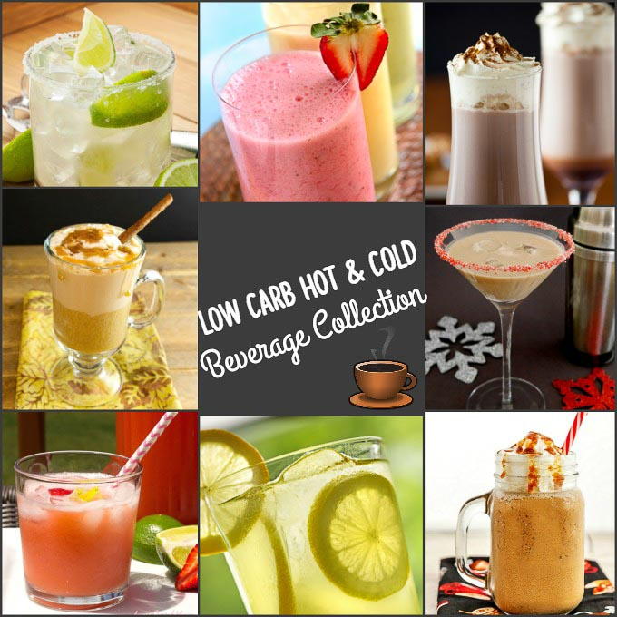 Low Carb Hot and Cold Beverage Collection- The best Hot and cold low carb drinks