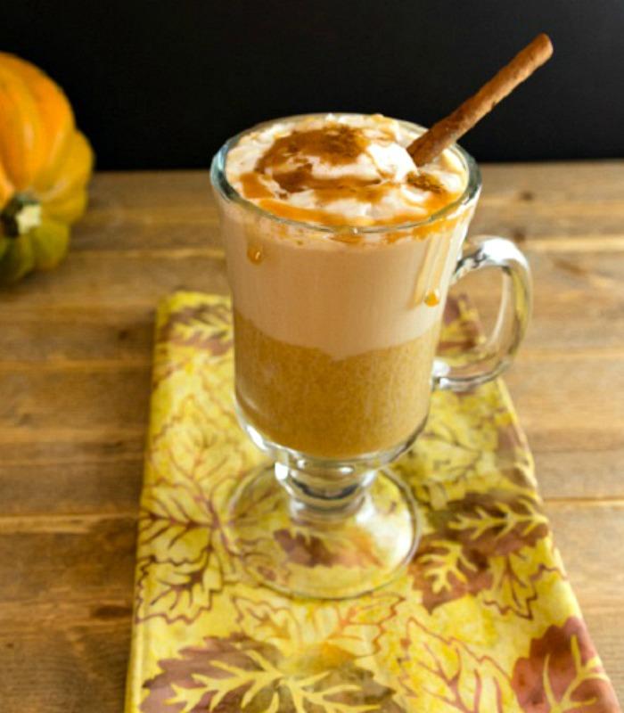 Pumpkin Caramel latte Low carb & paleo