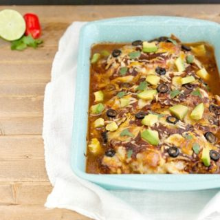 Easy Mexican Chicken Bake Low Carb