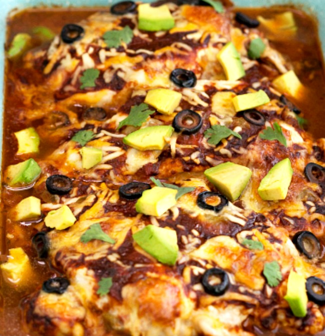 Easy Mexican Chicken Bake- low carb and keto
