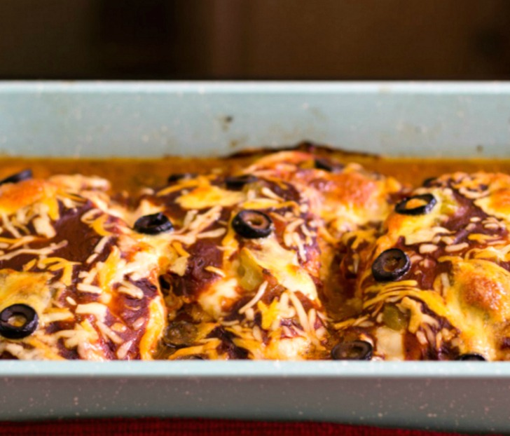 Easy Mexican Chicken Bake Low carb and Gluten Free
