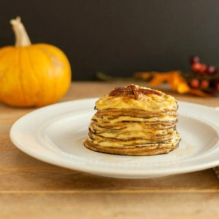 Pumpkin Cheesecake Pancakes Low Carb & Gluten Free