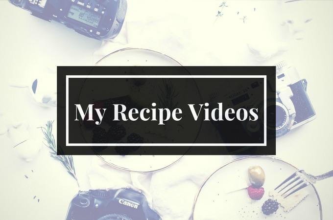 My Recipe Videos- Low Carb & Grain Free