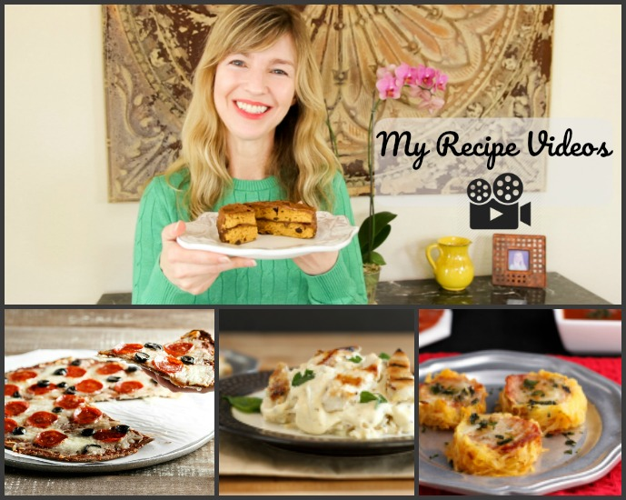 My Recipe Videos- Low Carb Recipes