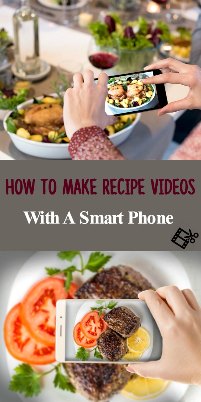 How To Make Cooking Videos Using Smartphone- For Beginners