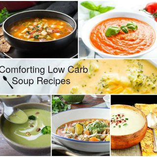 Comforting Low Carb Soup Recipes-Low Carb & Gluten Free