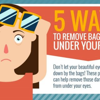 5 Ways to Remove Under Eye Bags