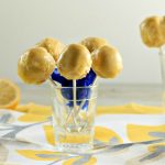 Lemon Cream Cake Pops -Low Carb & Paleo