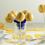 Lemon Cream Cake Pops -Low Carb & Paleo