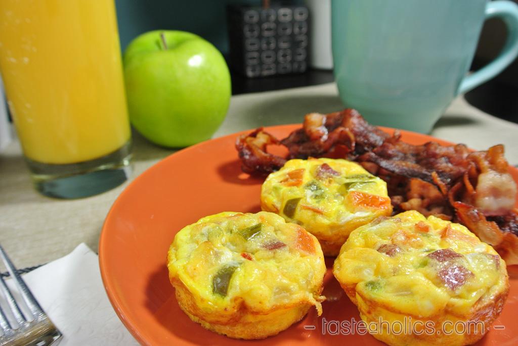 Breakfast Mini Quiches