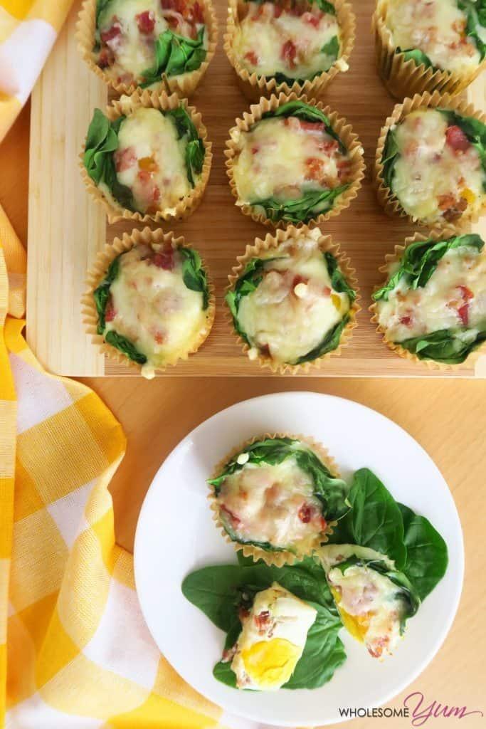 Spinach & Chive Mini Quiches