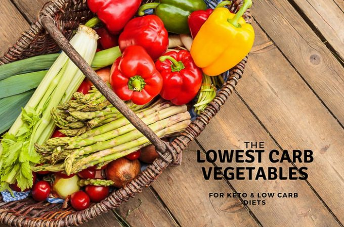 Best Lowest Carb Vegetables= For Keto and low Carb Diets