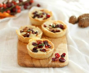 Savory Bacon Cranberry Cheese Tartlets- Low Carb , Keto, & Gluten Free. #mahonmenorca #sponsored