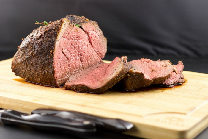 Easy Baked Sirloin Roast with Herb Rub | Beauty and the Foodie