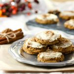 Peppermint Cream Ginger Cookies- Low Carb & Paleo