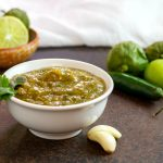 Homemade Roasted Tomatillo Salsa Verde- Paleo & Low Carb