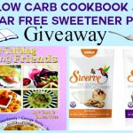 Low Carbing Among Friends Cookbook & Sugar Free Sweetener Giveaway- Enter to Win