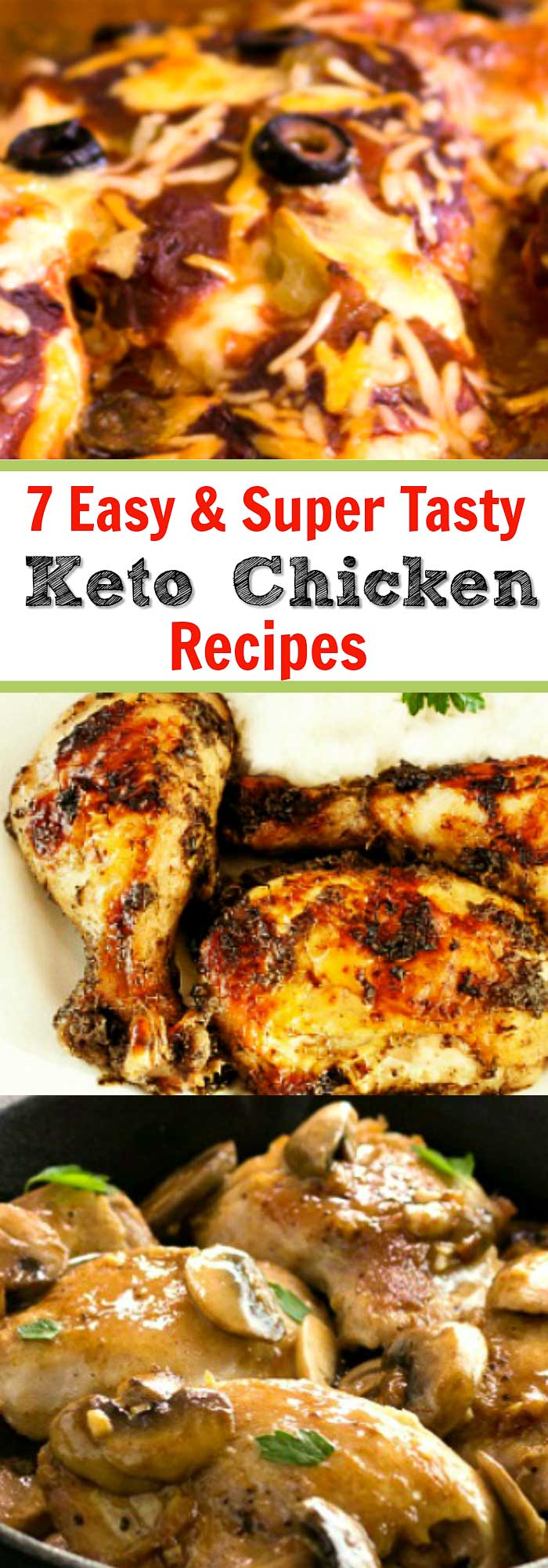 7 Best Easy Keto Chicken Recipes