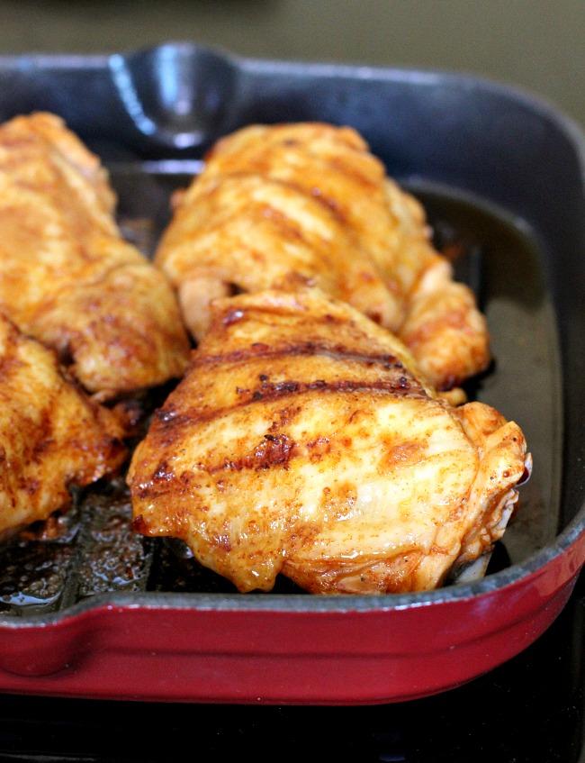One Skillet Keto Portuguese Style Chicken