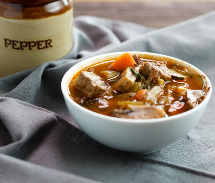 Low Carb Instant Pot or Stovetop Hearty Beef Stew