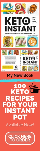 Keto in an Instant Cookbook- 100 keto recipes for your Instant Pot
