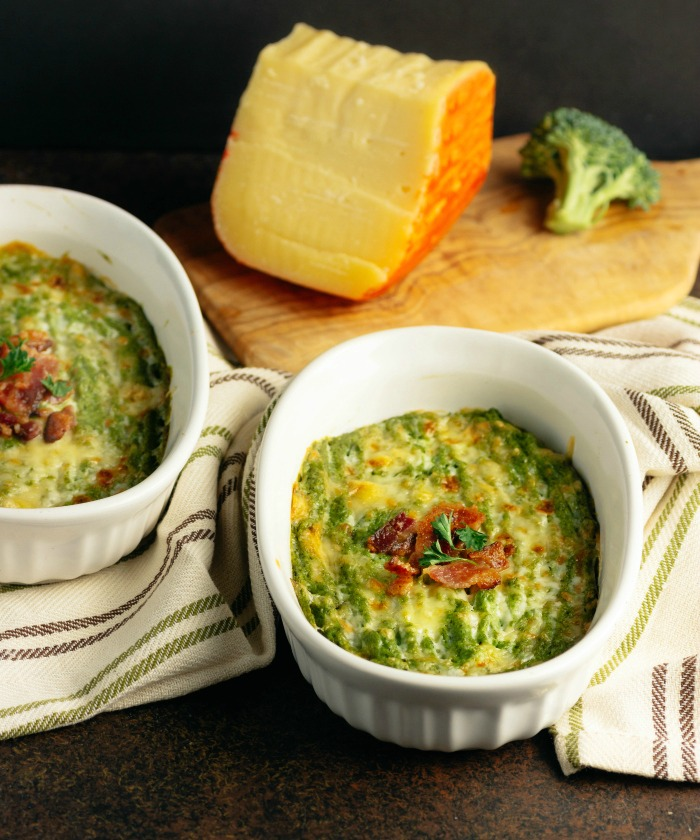 Creamy Cheesy Broccoli Mash with Bacon