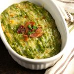 Creamy Cheesy Broccoli Mash with Bacon - Low carb , Keto & Gluten-free