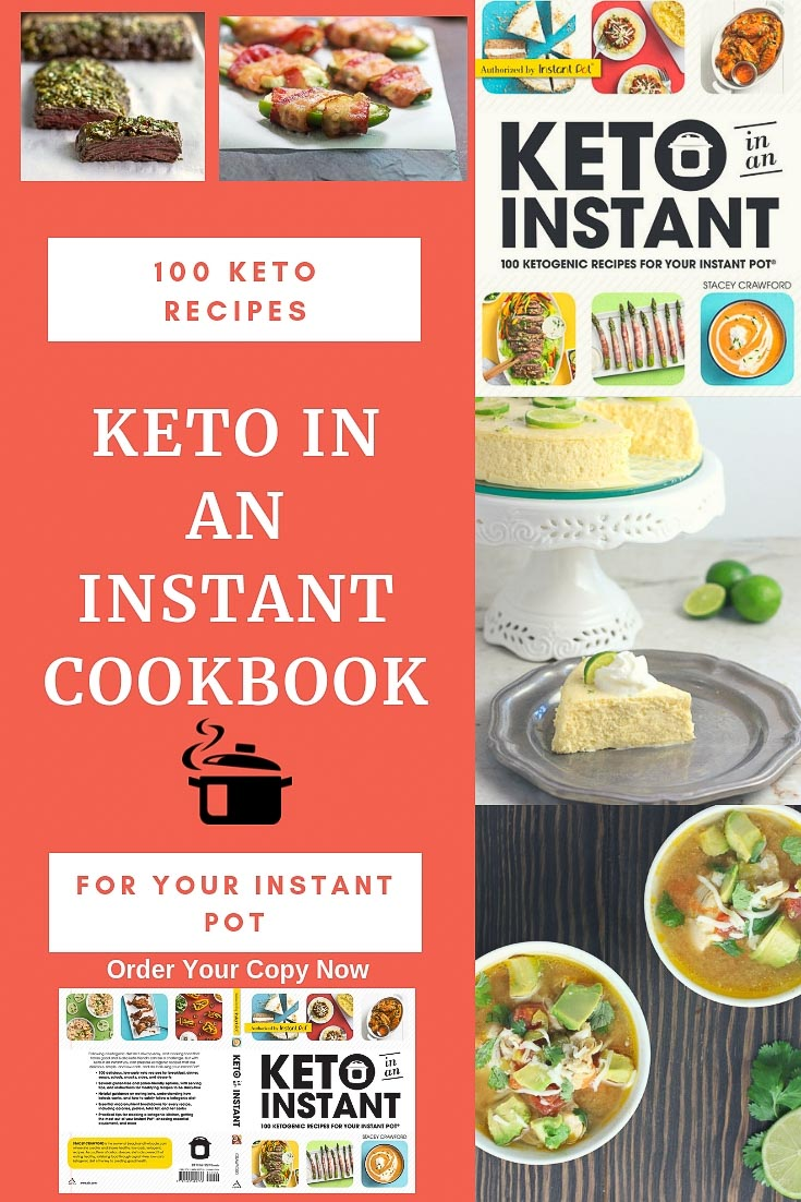 Keto in an Instant Cookbook | Beauty and the Foodie