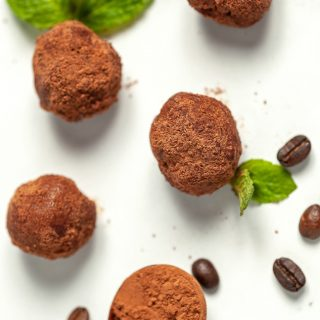 Keto Peppermint Mocha Fat Bombs