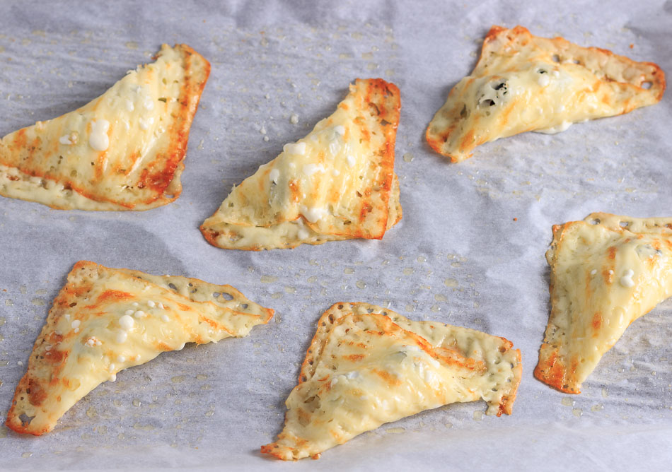 Keto Blackberry Cheese Danish Turnovers