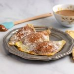 Easy Keto Chocolate Nutella Ravioli- Low Carb, keto gluten free