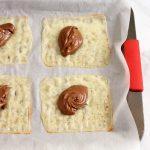 Easy Keto Chocolate Nutella Ravioli- prep