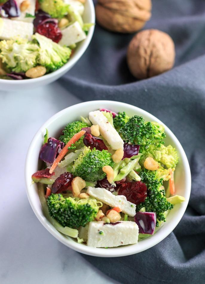 Broccoli Jicama Slaw Low Carb & Paleo