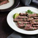 Easy Keto Grilled Mojo Skirt Steak- Low Carb, Paleo , Whole30