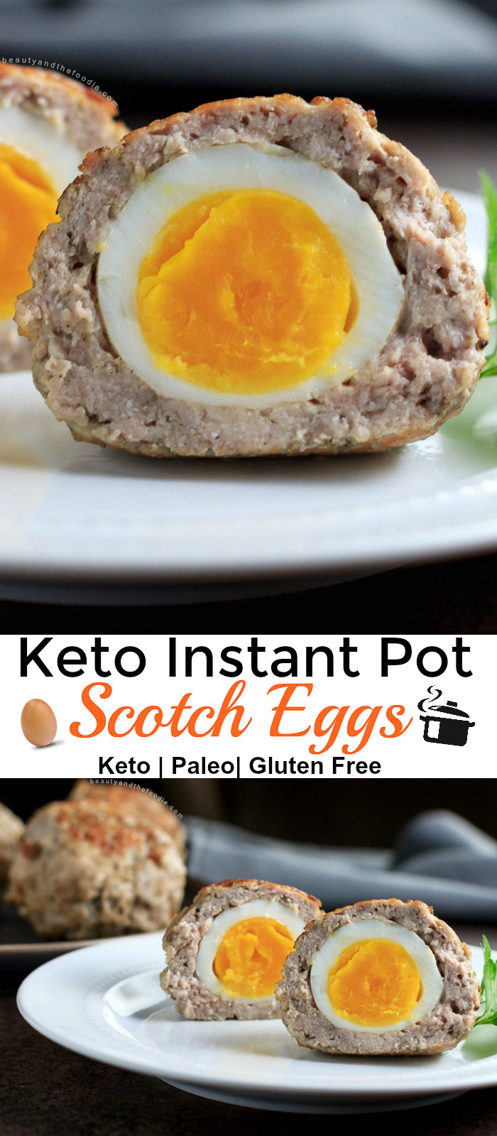 Instant Pot Keto Scotch Eggs